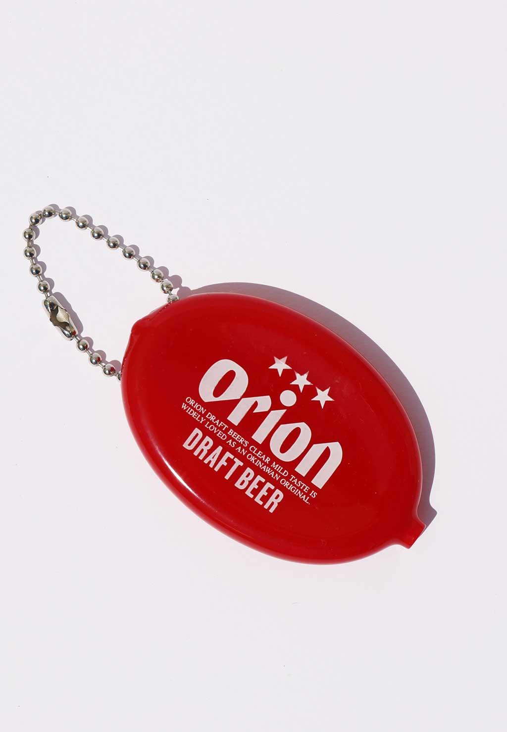 オリオンビール コインケース    赤(RED)
