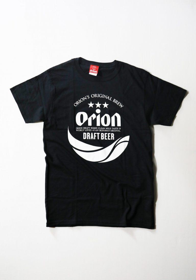 オリオンビール 丸ロゴTシャツ  黒(BLACK ) ORIONBEER T-SHIRT
