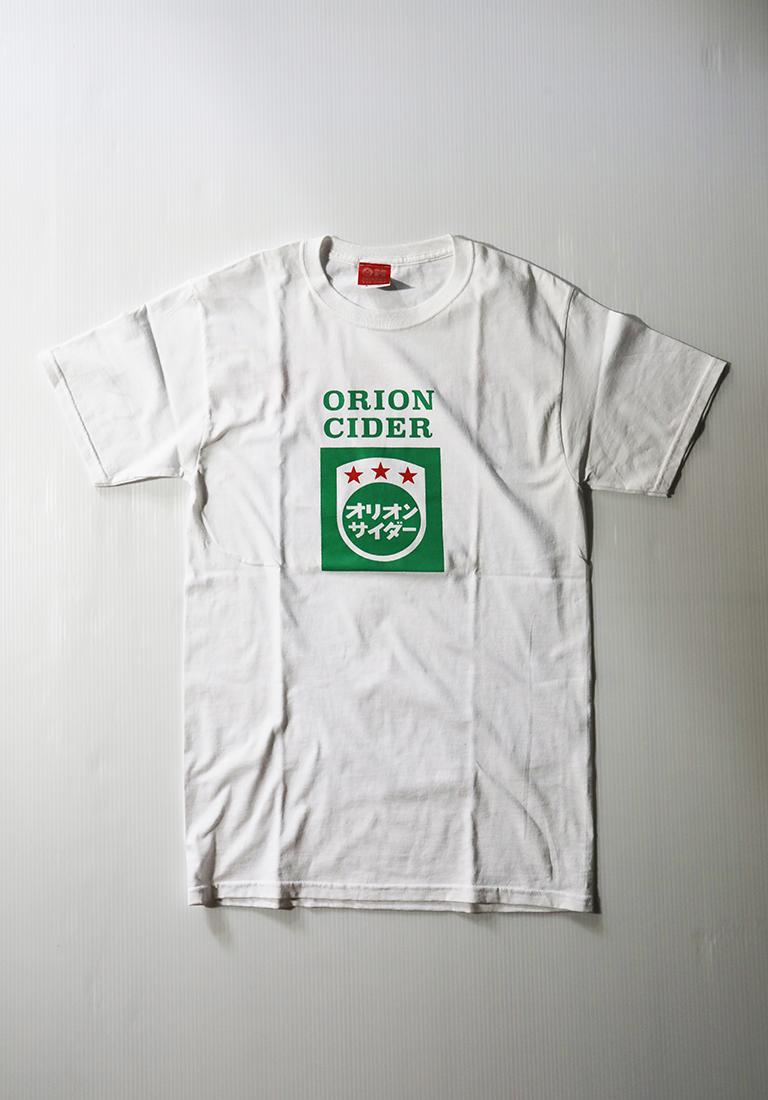 オリオンビール オリオンサイダーTシャツ 白(WHITE) ORIONBEER T-SHIRT